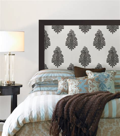 headboard wallpaper 10 uses for wallpaper you never thought of brewster home