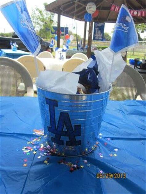 Dodger Decorations by Dodger Centerpiece Dodgers