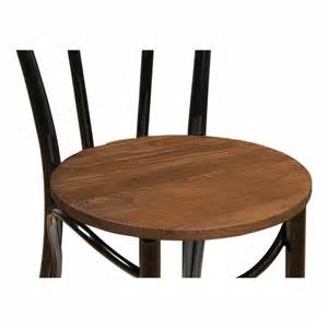 Black Bistro Chairs Black Thonet Style Bistro Chair With Wood Seat Caf 233 Chairs Cult Uk