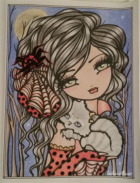 libro mermaids fairies other mermaids fairies other girls of whimsy coloriage anti stress bonitas chicas de hannah