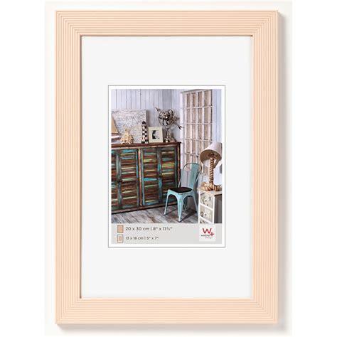 cornice 50x70 walther cornice in legno gradio 50x70 cm cr 232 me vetro