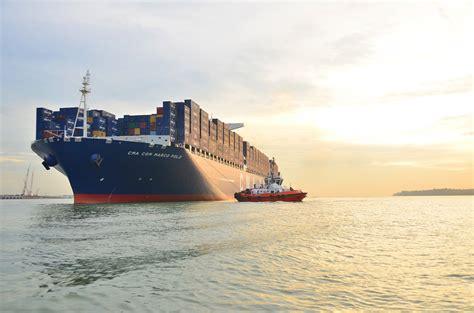 biggest shipping vessel in the world this is the world s largest container ship but not for