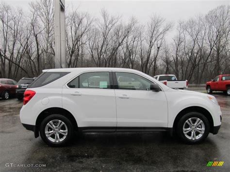 chevrolet equinox white summit white 2012 chevrolet equinox ls awd exterior photo
