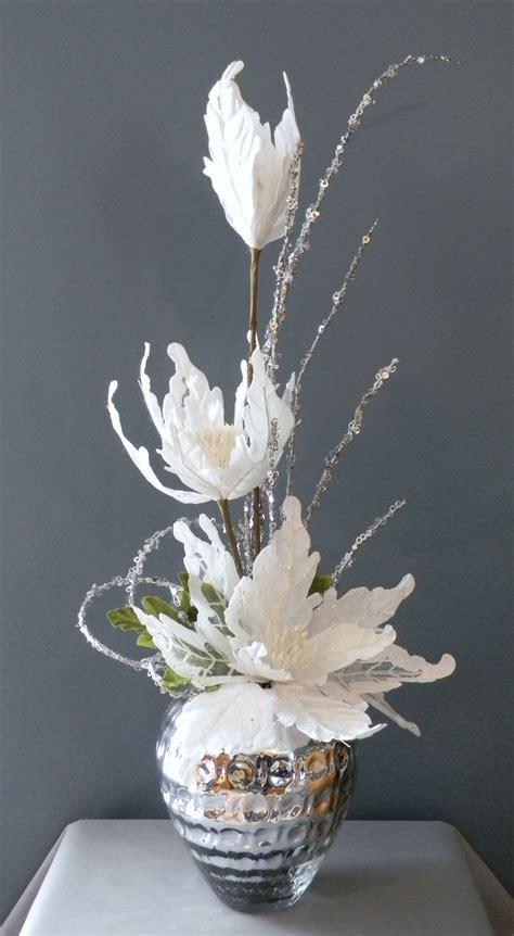 elegant winter bouquet christmas floral arrangement