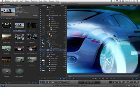 final cut pro release notes apple optimized final cut pro compressor motion and