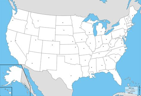 map of the us with alaska and hawaii united states with alaska and hawaii free map free blank