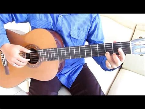 tutorial finger style tinggal kenangan belajar kunci gitar gaby tinggal kenangan intro youtube