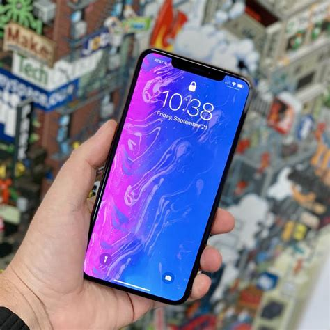 iphone xs max impressions it s big but not big zdnet