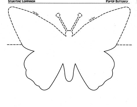 8 best images of handprint butterfly template printable