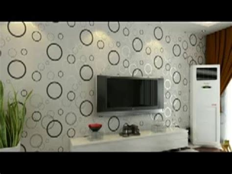 wallpaper dinding ruang tv ruang keluarga youtube