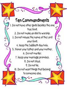 Ten commandments poster kathy hutto