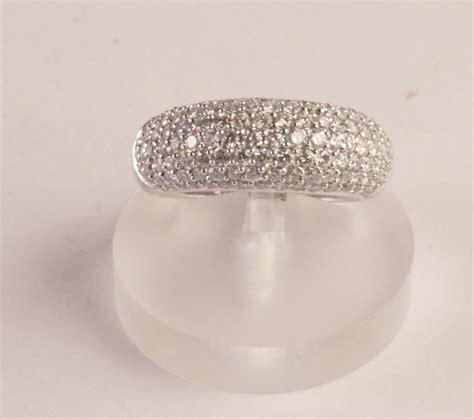 pave di diamanti anello con pav 233 di diamanti orologi e gioielli antichi e