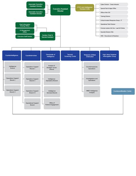 fbi organizational chart fbi organizational chart for free formtemplate