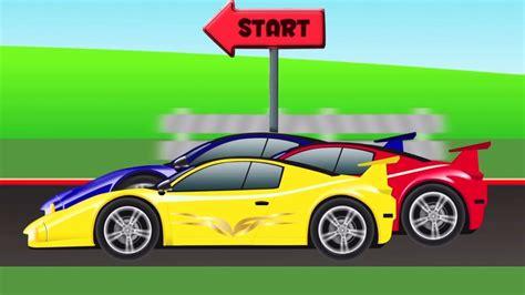 cartoon sports car view mobil sport ras mobil kartun race cartoon car