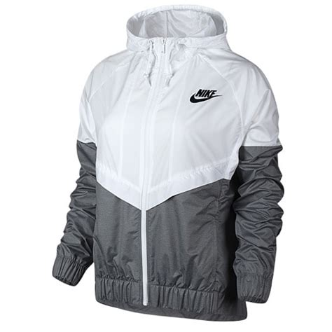 Jaket Parasut Nike Jaket Windbreaker Windrunner Grey Black 1 nike windrunner jacket s casual clothing white cool grey black