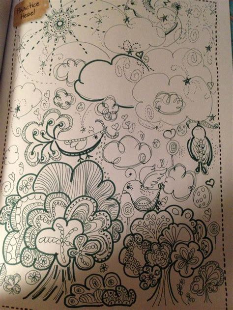 doodle nature nature doodle artwork
