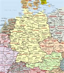 map of all cities cities of germany on detailed map detailed map of cities