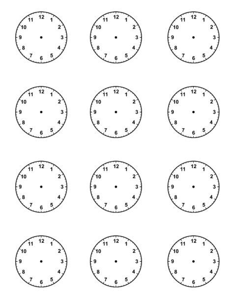 blank clock template blank clock new calendar template site