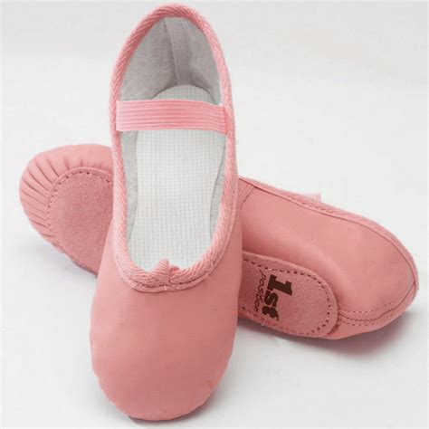 pink leather ballet shoes simply academy