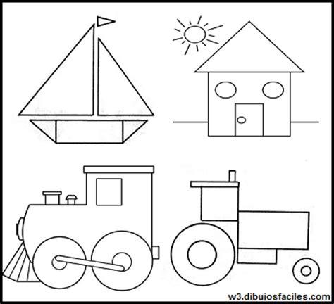 figuras geometricas dibujos dibujos con figuras geometricas para preescolar imagenes