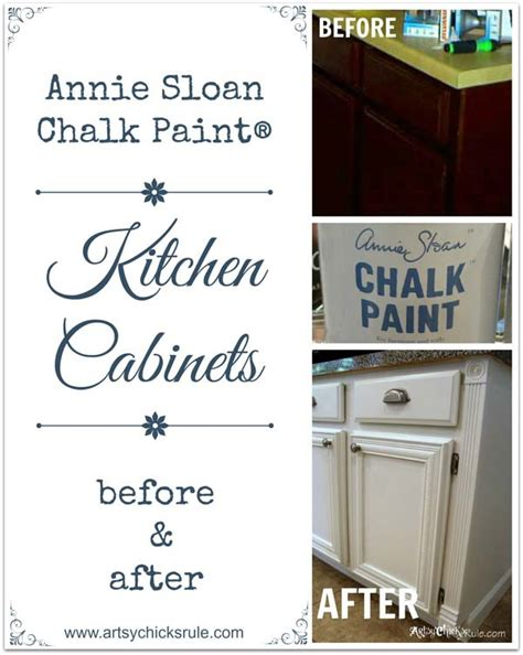 can you use chalk paint on kitchen cabinets kitchen cabinet makeover sloan chalk paint artsy rule 174