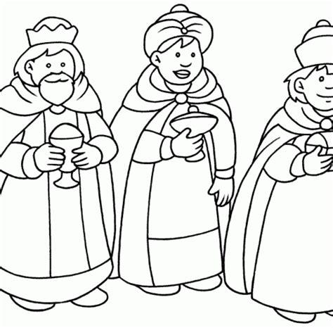 imagenes de los reyes magos para pintar dibujos de los tres reyes magos imagui