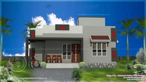 Kitchen Design In Kerala 900 Sq Ft Low Cost House Plan Home Kerala Plans
