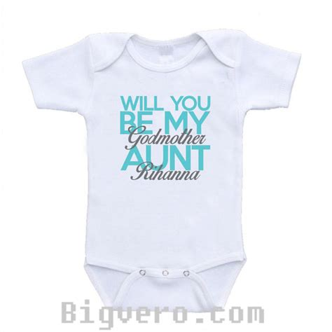 will you be my godparents onesie will you be my godmother baby onesie