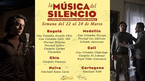 la musica del silencio la m 250 sica del silencio en cartelera