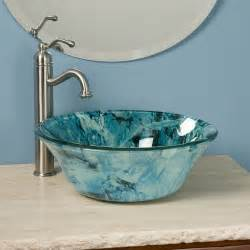 glass vessel sinks bathroom 18 vessel sinks to beautify your bathroom