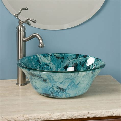 glass vessel bathroom sink 18 vessel sinks to beautify your bathroom