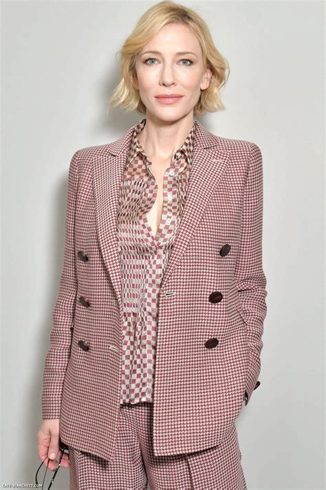 And Cate Blanchett At The Armani Fashion Show by Cate Blanchett Fan Cate Blanchett 187 Cate Blanchett