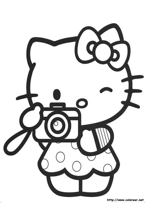 imagenes de kitty para imprimir y colorear dibujos para colorear de hello kitty