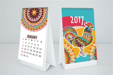calendar design behance 2017 monthly calendar template on behance