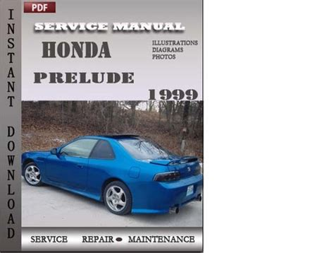 service and repair manuals 1994 honda prelude free book repair manuals honda prelude 1999 service repair manual download manuals t