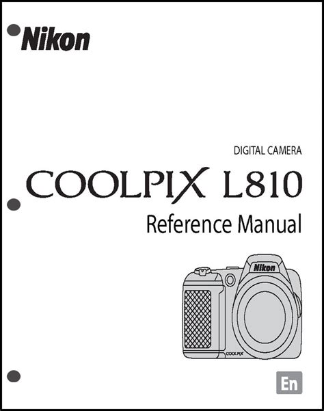 Nikon P900 Owners Manual by Nikon Coolpix L810 Digital User Guide Manual Ebay