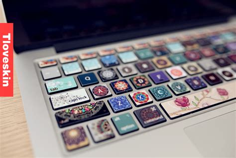 Keyboard Skin For Macbook flowers macbook keyboard decal macbook pro keyboard skin