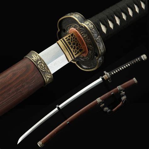 Handmade Japanese Katana - tachi sword real handmade tang japanese katana