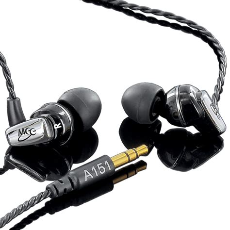 Meelectronics Balanced Armature In Ear Headphone A151 Mlsk0cbk meelectronics balanced armature in ear headphones
