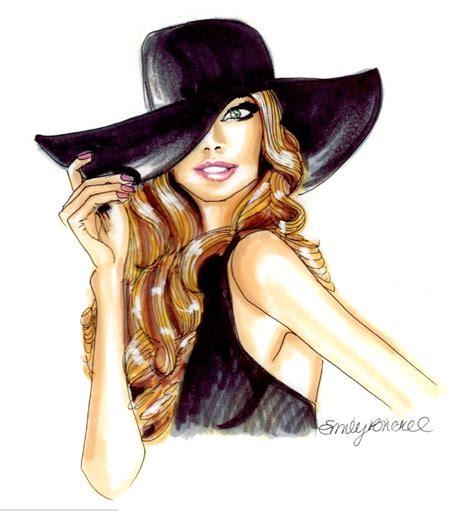 fashion illustration hats 713 best i l l u s t r a t i o n images on