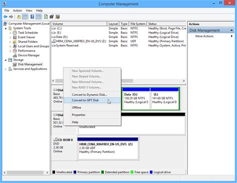 reset windows password gpt partition 3 ways to change a disk from master boot record into guid