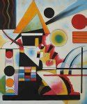 wassily kandinsky swinging wassily kandinsky accent en rose painting at