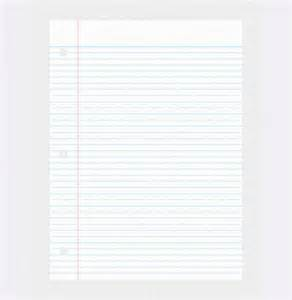 notebook paper template for word 2010 notebook paper template for word 2010