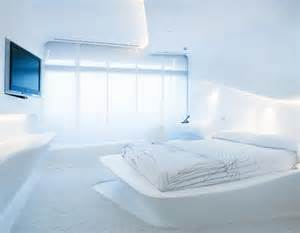 futuristic hotel room in madrid homes out of the