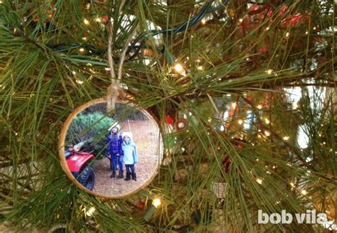 tree diy ornaments diy turn your tree into its own ornaments
