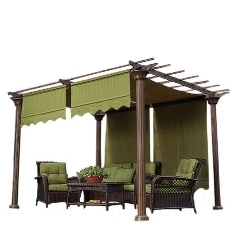 pergola replacement covers universal designer replacement pergola shade canopy ii garden winds