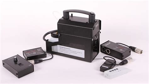 hand held battery smoke machine