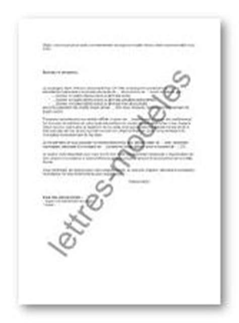 Modèle et exemple de lettres type : Recours gracieux après