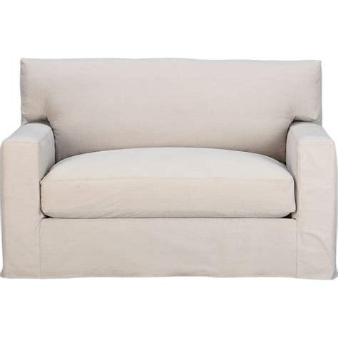 axis ii slipcovered sleeper sofa in axis sectional