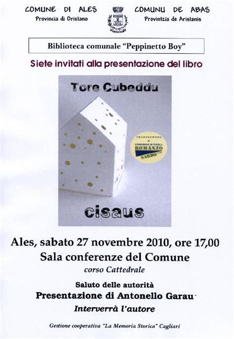 libreria dettori cagliari torecubeddu novembre 2010